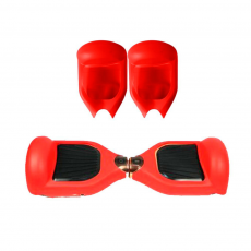 "Protetor Universal Silicone Hoverboard 6.5 ""Vermelho"